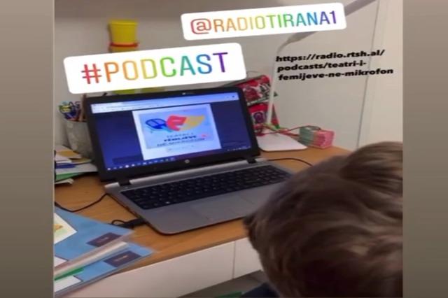 Elis ndjek Podcast- Teatri i fëmijëve në mikrofon 🎧