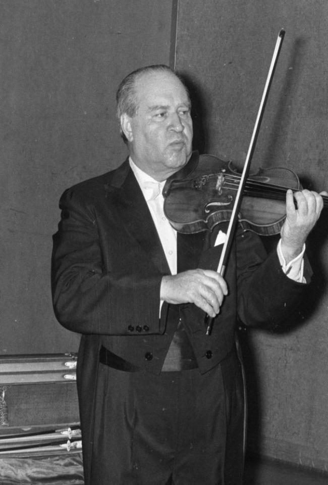 David Oistrakh - Violinë, Interpretuesit kryesorë në botë